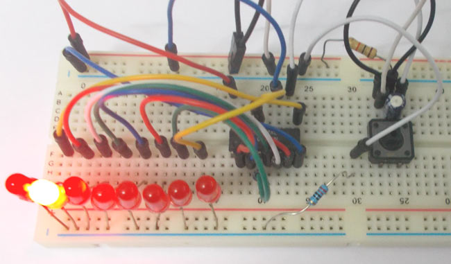 7 Segment Display Interfacing with Arduino-in-chennai