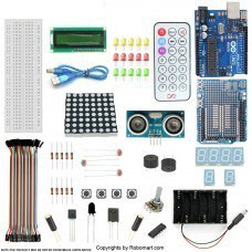 ARDUINO UNO R3+DISTANCE SENSOR STARTER KIT WITH 19 BASIC ARDUINO PROJECTS