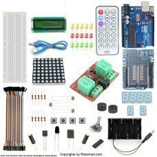 Arduino Uno R3 2 Channel 12V Relay Starter Kit With 18 Basic Arduino Projects