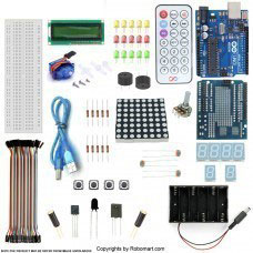 Arduino uno r3 servo motor starter kit with basic arduino projects