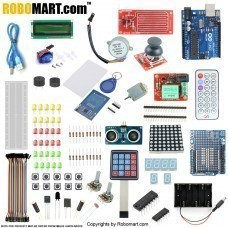 Starter Kit RFID Master With Motor Relay LCD Servo AVR For Arduino 1602 Uno R3