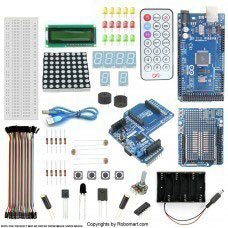 MEGA 2560 R3+XBEE SHIELD STARTER KIT WITH BASIC ARDUINO PROJECTS