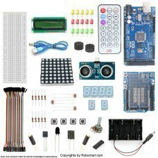MEGA2560 R3+Distance Sensor Starter Kit With 19 Basic Arduino Projects
