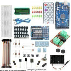 MEGA2560 R3+2-Channel 12V Relay Starter Kit With 18 Basic Arduino Projects