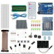 Leonardo R3 2 Channel Relay Starter Kit with 18 Basic Arduino Projects