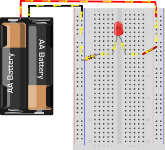 LED-equivalent-circuit