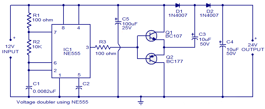 voltage-doubler-using-NE555-timer