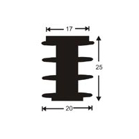 HeatSink Type PI11 - 35 mm [K1] Power Diodes / SCR-Heatsinks