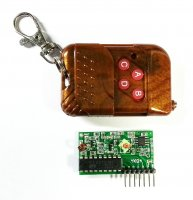 4CH RF Remote Key with Receiver 433MHz in chennai
