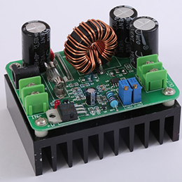 DC-DC - Non Isolated - Boost Type - 600WInput: 10 to 60V / Output: 12 to 80V - 10A [Max] - [18]