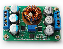 DC-DC - Non Isolated - Buck Type Input: 16 to 40V / Output: 1 to 12V - 6A [Max] - [4]