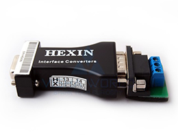 RS232-RS485 - HEXIN - No External Power Source Required