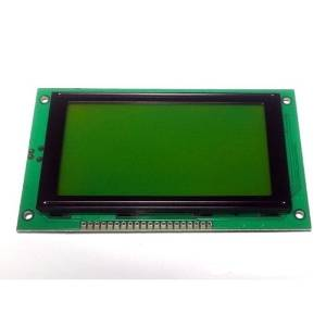 128x64 Graphical LCD Module (Green)