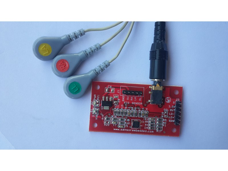 AD8232 ECG MEASUREMENT PULSE SENSOR