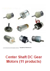 center-shaft-dc-gear-motors