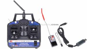 Quadcopter Kits Flysky 2.4 Ghz Transmitter Receiver (6 channel) in chennai