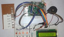 Electronic Voting Machine using Raspberry Pi