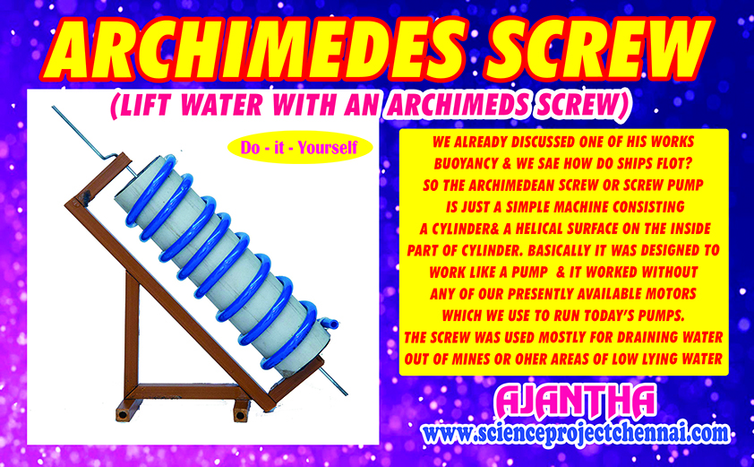 ARCHIMEDES SCREW Project Kit