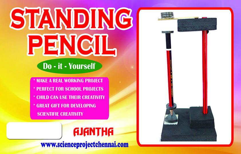 STANDING PENCIL Project Kit