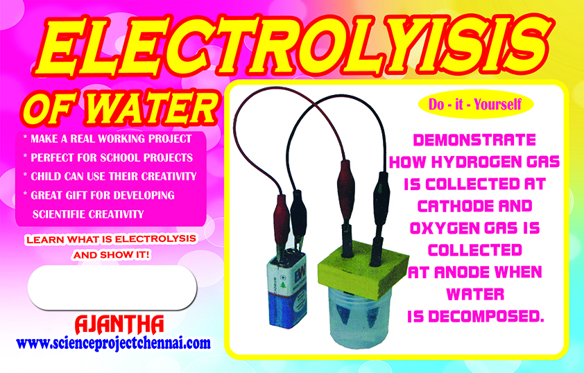 electrolyisis Project Kit