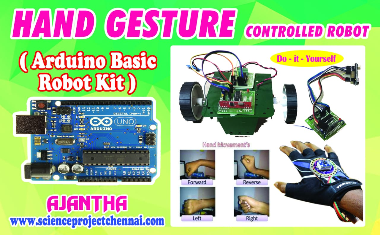 hand gesture Project Kit