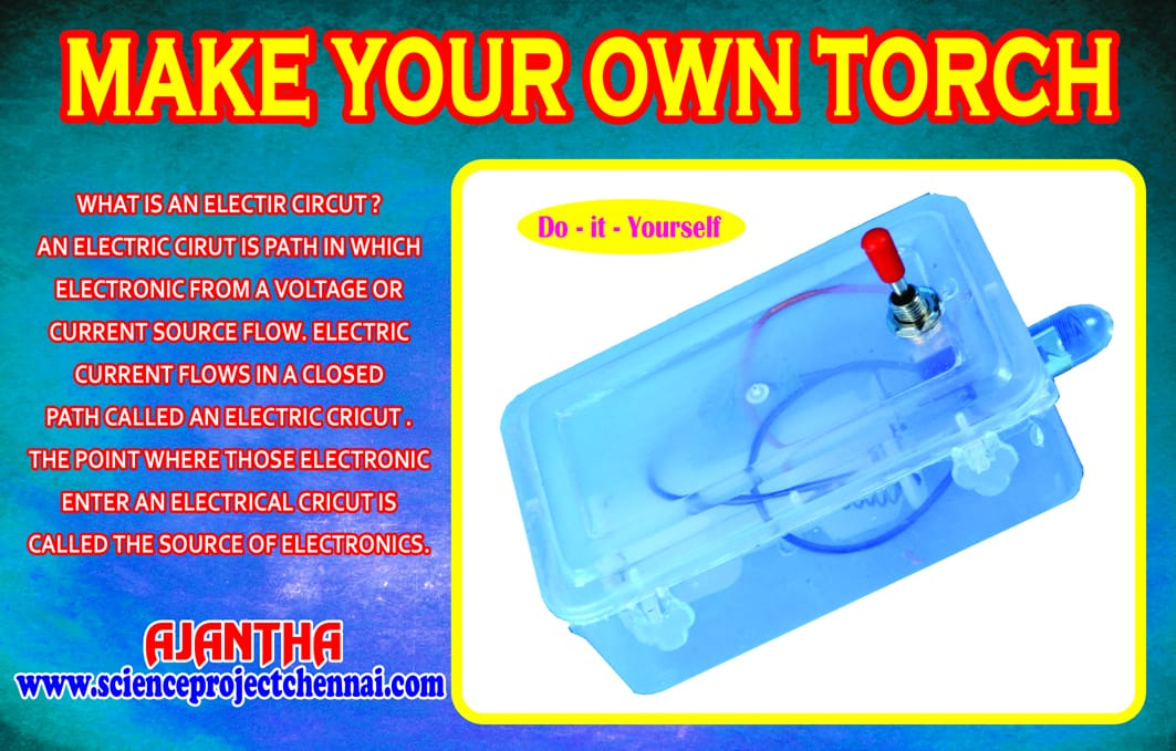 make your own torch Project Kit