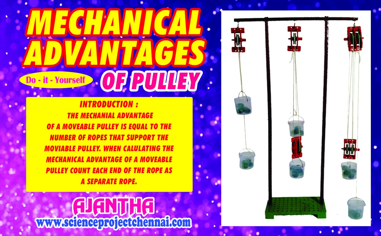 mechanical-advantages of pulley Project Kit
