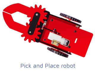 pick and place robots Project Kit