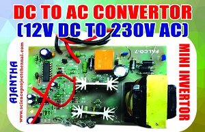dc to ac_converter Project Kit