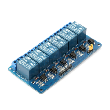 Opto Isolated Relay Module (6 Channel)