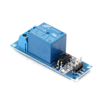 1 x DC 24V Opto Isolated High Level Triggering Relay Module