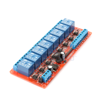 8 x DC 5V Opto Isolated Wide Voltage Triggering Relay Module