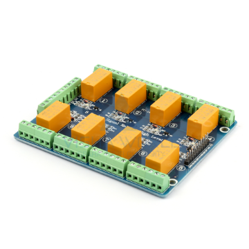 8 x DC 5V Telecom High Level Triggering Relay Module