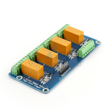 4 x DC 5V Telecom High Level Triggering Relay Module