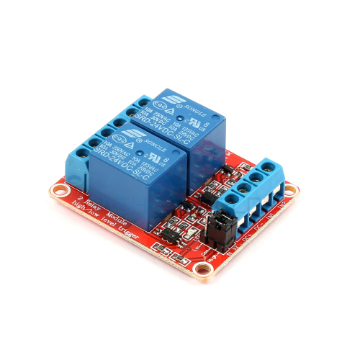 2 x DC 24V Opto Isolated High/Low Level Triggering Relay Module