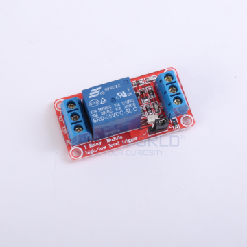 1 x DC 5V Opto Isolated High/Low Level Triggering Relay Module