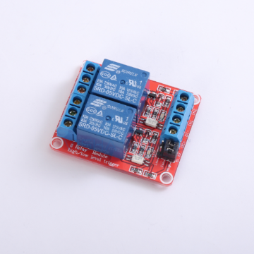 2 x DC 5V Opto Isolated High/Low Level Triggering Relay Module