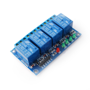 4 x DC 24V Opto Isolated Relay Module