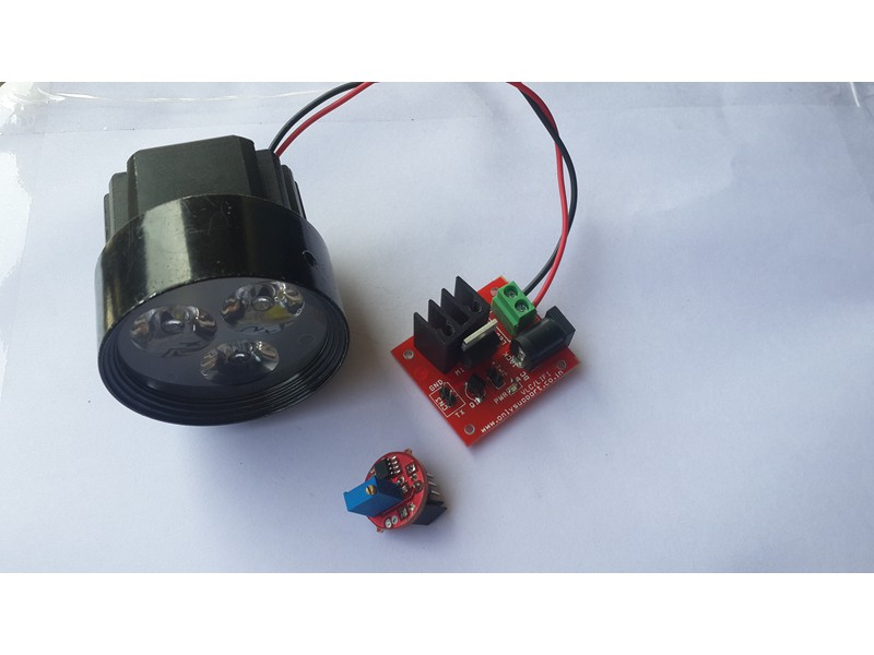 Wireless LIFI Module
