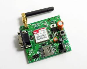 SIM900A GSM MODEM MODULE with SMA ANTENNA - CALL SMS GPRS with RS232, TTL & I2C